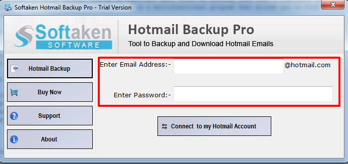 Connect Hotmail Account